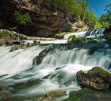 Willow Falls. by Michael Treloar