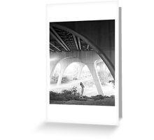 smena under the bridge Greeting Card