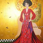 Homage to Klimt by Denise Martin