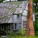 Old Log Cabin.... within your walls? by Ruth Lambert