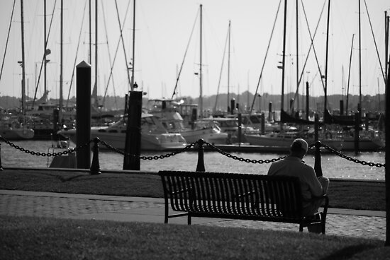 Thoughts By The Water by AcePhotography