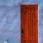 Abiquiu Door  by Mitchell Tillison