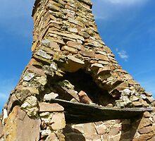 Stone Chimney, Wee Jasper by Catherine Howarth