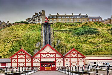 Saltburn Funicular Lift by Trevor Kersley