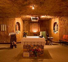 Underground Church 2 - Coober Pedy by Hans Kawitzki