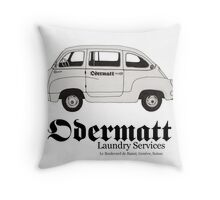 Artur Odermatt's Laundry Services Throw Pillow