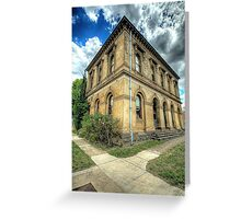 Going Postal # 2 - Clunes Post Office , Victoria - The HDR Experience Greeting Card