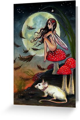 The Faerie and her Mouse by KimTurner