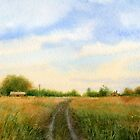 Country road by Sergei Kurbatov