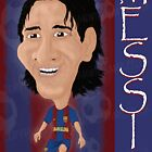 Lionel Messi by Brendan Williams