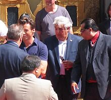 Hugh Jackman & Jay Leno by Monk2577