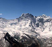 Ama Dablam Himalayan Range by Cedar Wolf