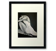 Odette Sad Swan Framed Print