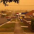 Dust Storm Brisbane by Helen Martikainen