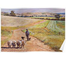 Moving the Rams (Whiteheads Creek) Poster