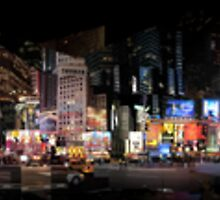Times Square by Simon Yeomans