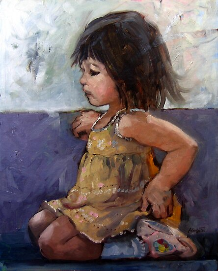Girl in Yellow by jhjjjoo