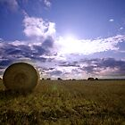 haybales by MissBritt