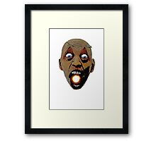 I have a universe in my mouth.. Framed Print