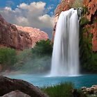 Havasupai Falls by psnoonan