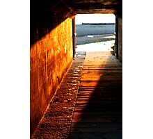 Footsteps To Serenity Photographic Print