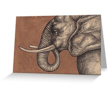 The Elephant in the Room Greeting Card