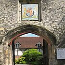 The Priory (or St Swithun's) Gate, Winchester Cathedral Close, southern England by Philip Mitchell