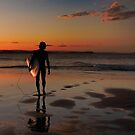 Coolangatta surfer boy by Geraldine Lefoe