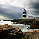Storm Brewing at Hook Head Lighthouse by Deb Snelson