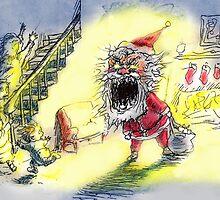 Devil Santa by NOTORIOUSV-I-V