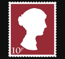 Jane Austen Stamp by pixzlee
