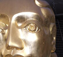 The Golden image Barbican London by Paul Dean