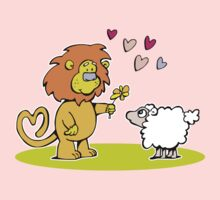 And so the lion fell in love with the lamb by Matt Mawson