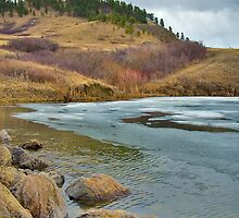 Beaver Creek Lake In Early Spring by nituathaill