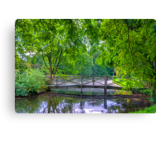 Latice Bridge Canvas Print
