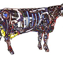 Mech Cow by jcwdesigns