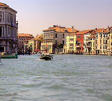 Grand Canal Venice 1 by David Freeman