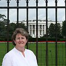 Outside The White House by AnnDixon