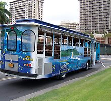 The Diamond Head Trolley by Darryl Krauch
