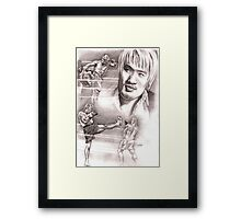 hong man choi Framed Print