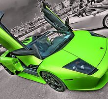 Lime Lambo by Stuart Baxter