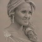 Carrie Underwood Portrait by golfiscool