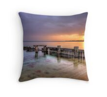 Mentone Sunset Throw Pillow