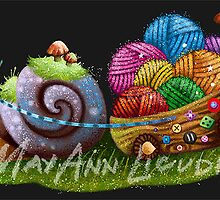 Snail (commissioned work) by May Ann Licudine