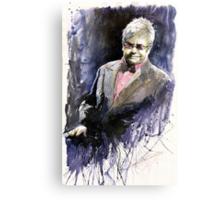 Jazz Sir Elton John Canvas Print