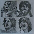 Let It Be- The Beatles by clairesartwork