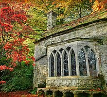 The Gothic Cottage, Stourhead by Amanda White