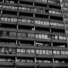 Heygate Estate Highrise, London by sarahtoure