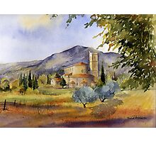 San Antimo Abbey Tuscany Photographic Print