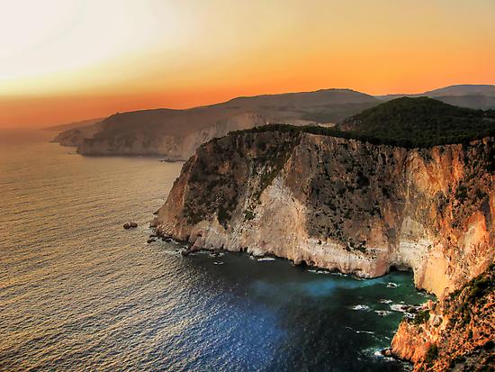 Greek sunset by kuma-x